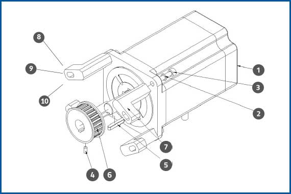 PRO-625W_ApplicatorMotorAssembly