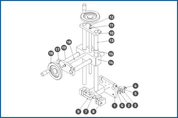 PRO-625W_PressurePlateAdjustmentAssembly