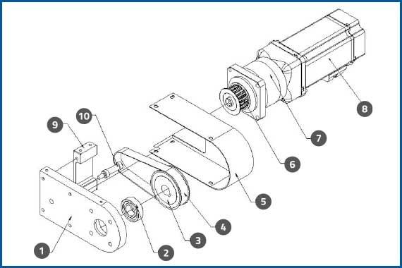 PRO-625W_ServoMotorAssembly