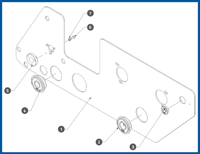 PL-501_ApplicatorBackPlateAssembly_diagram
