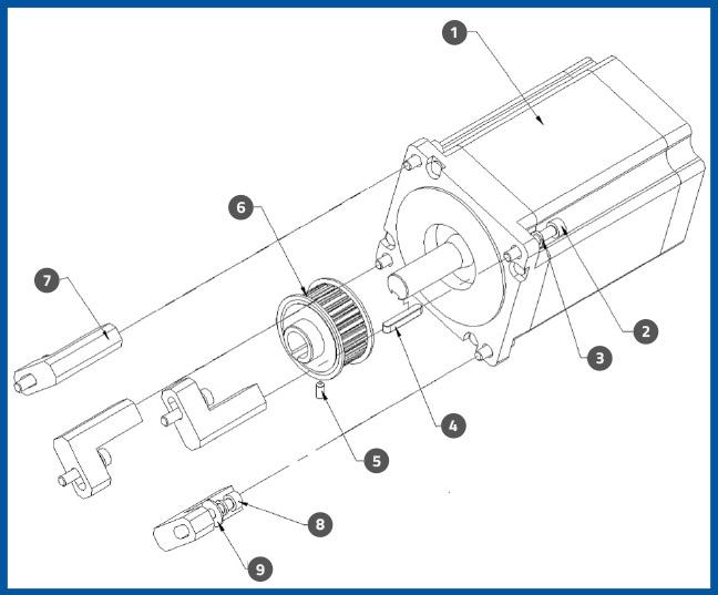 PL-501_ApplicatorMotorAssembly_diagram