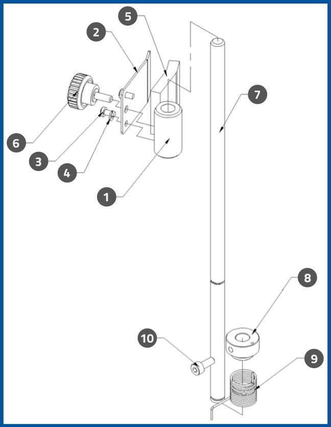 PL-501_LabelPressAssembly_diagram