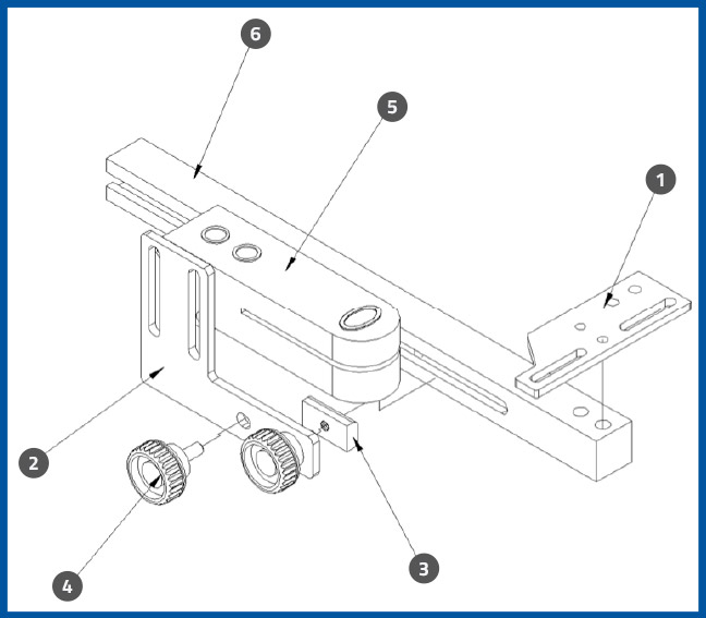 PL-501_LabelSensorBaseAssembly_diagram