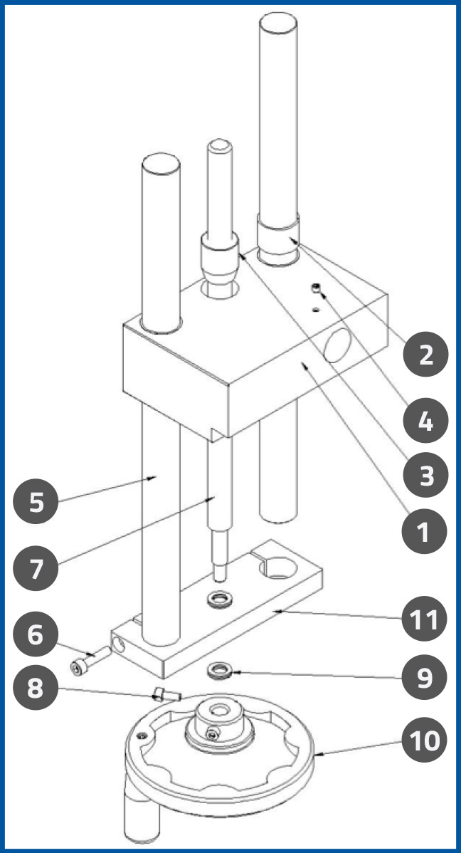 PL-501_PressurePlateUpDownAdjustmentAssembly_diagram