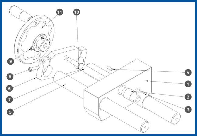 PL-501_UpDownAdjustmentAssembly_diagram