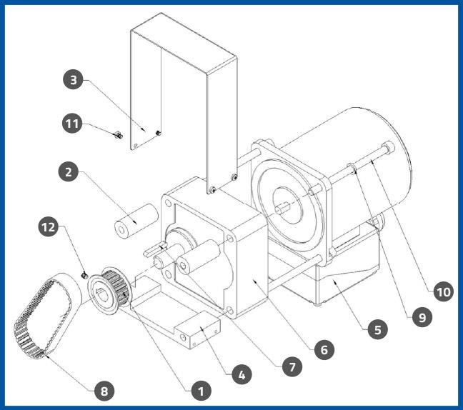 PL-501_WrapStationMotorAssembly_diagram